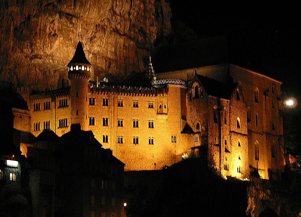 Abadia de Rocamadour, França.