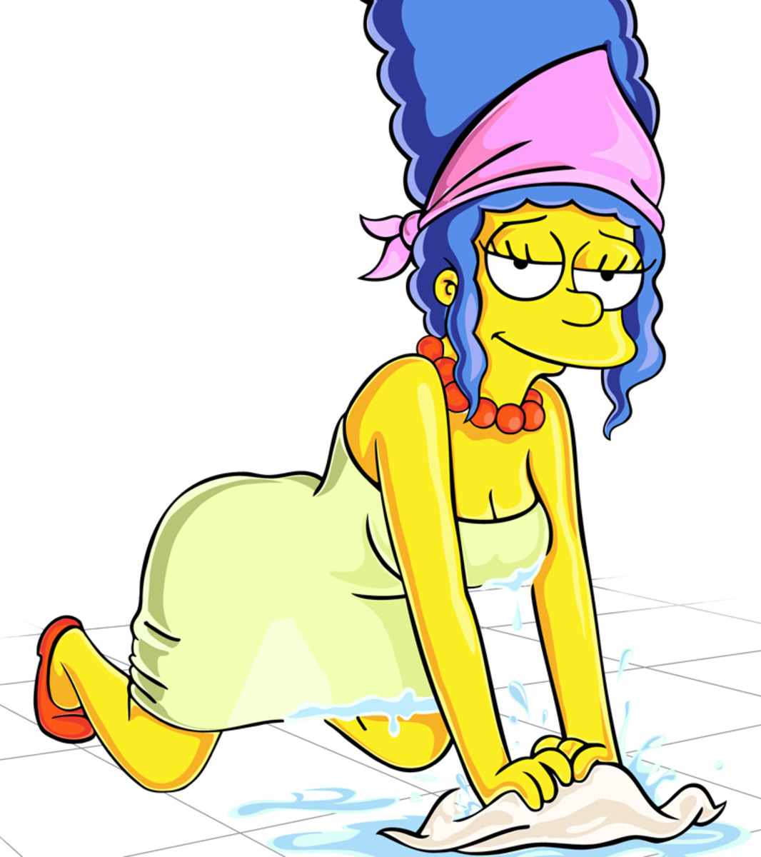 The Simpsons Marge Stay At Home Mom Marge Simpson
