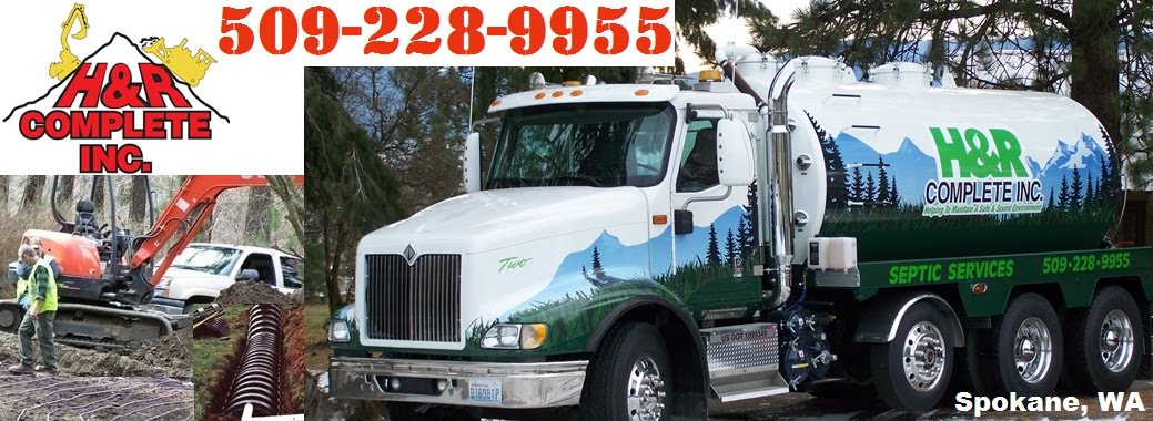 HR Complete Septic Pumping and Excavation Contractors Spokane WA