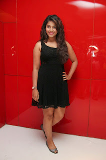 Actress Anjali Latest  Pictures in Short Dress at Kayal Movie Audio Launch  32.jpg