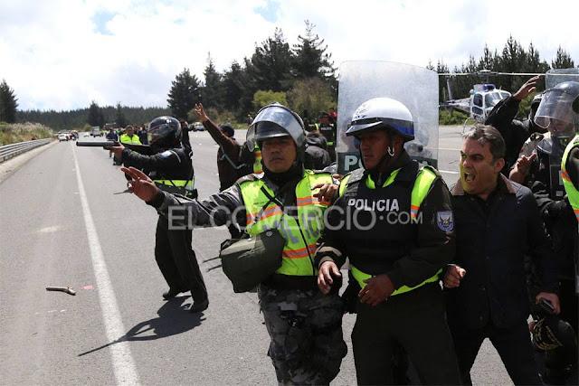 jose serrano manifestaciones 13 agosto