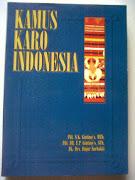 KAMUS KARO INDONESIA