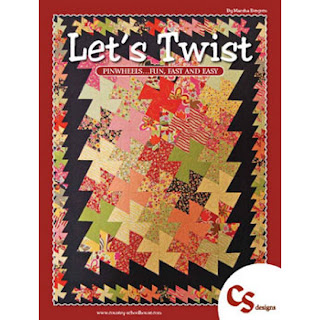 LET'S TWIST Quilt Book by Marsha Bergren