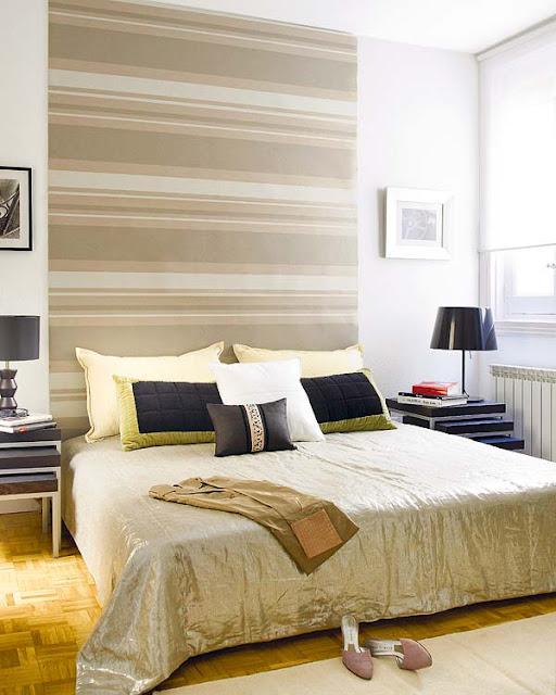 Blog de decorar ideias criativas para cabeceiras de cama box - Papel pintado cabecero cama ...