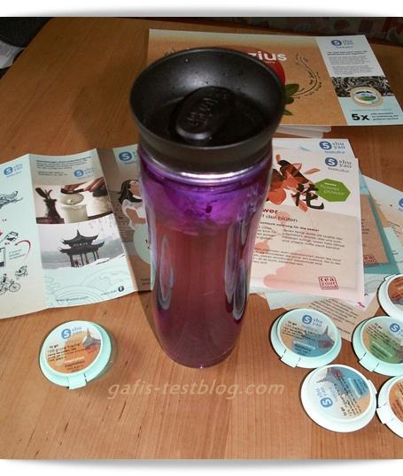 shuyao Teamaker mit Tee - geschlossen -
