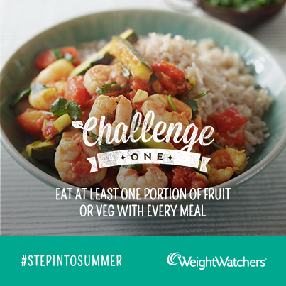 Weight Watchers #StepintoSummer Challenge One
