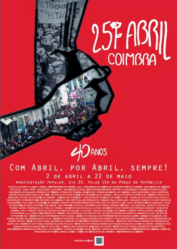 25 Abril - Coimbra