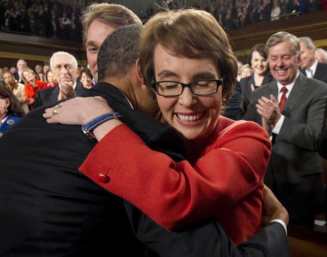 President Obama Hugs!
