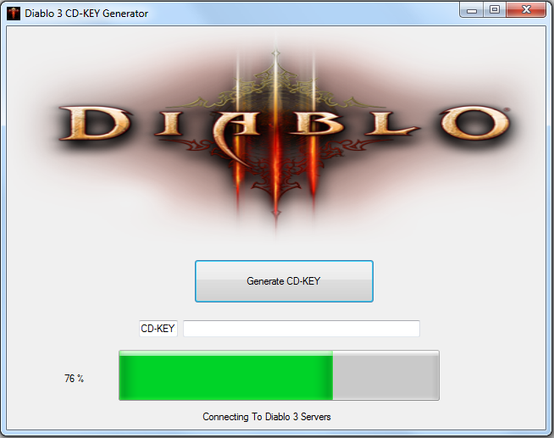 This Diablo 3 CD Keys Generator is brought to you by Clan DvS. Please resp