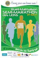 Rueil-Malmaison semi-marathon des Lions 2013
