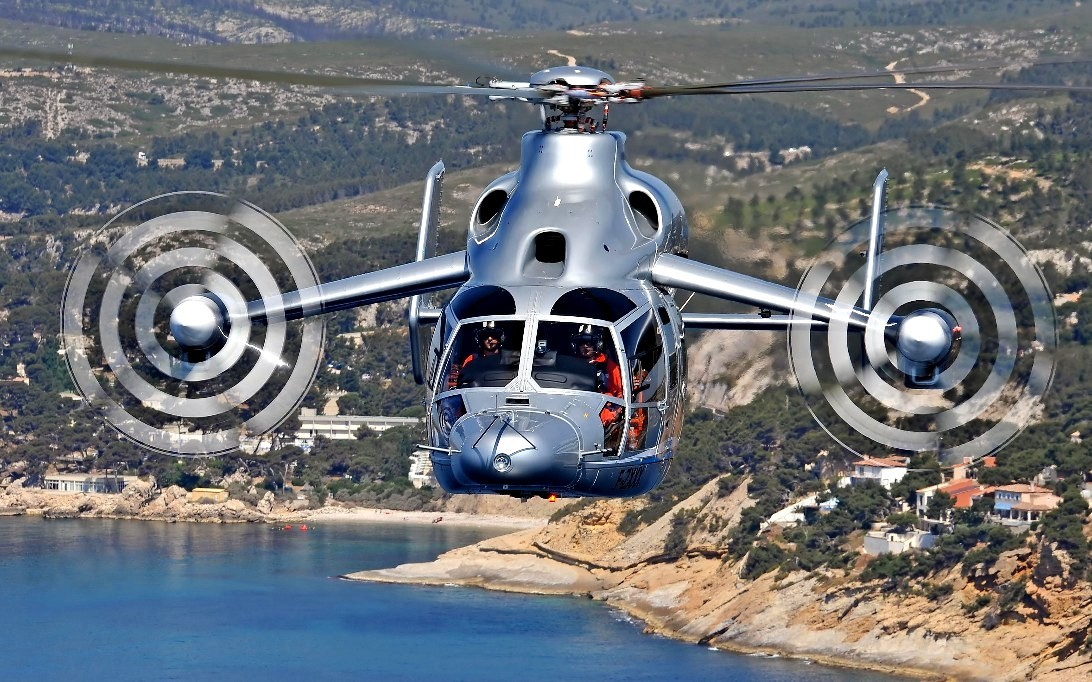 Eurocopter X3 Helicopter Wallpaper 1