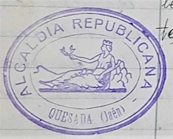 Sellos municipales republicanos de Quesada