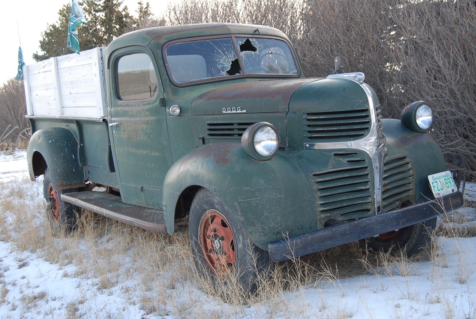 Autoliterate Vintage Dodge Truck In Saskatchewan