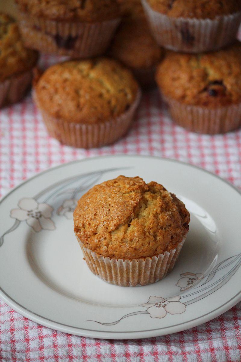Pączkowe muffiny