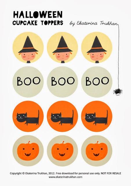 Imprimible para Halloween