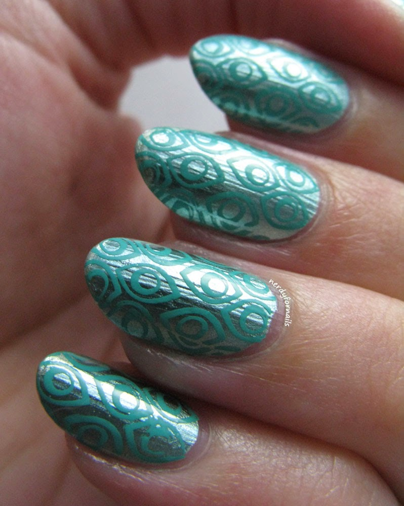 Sally Hansen Color Foil Minted Metal with Stamping