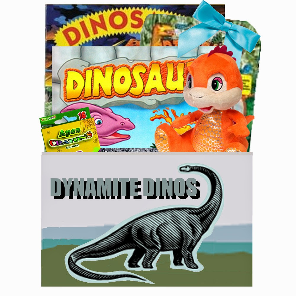Dinos Kids Gift Basket