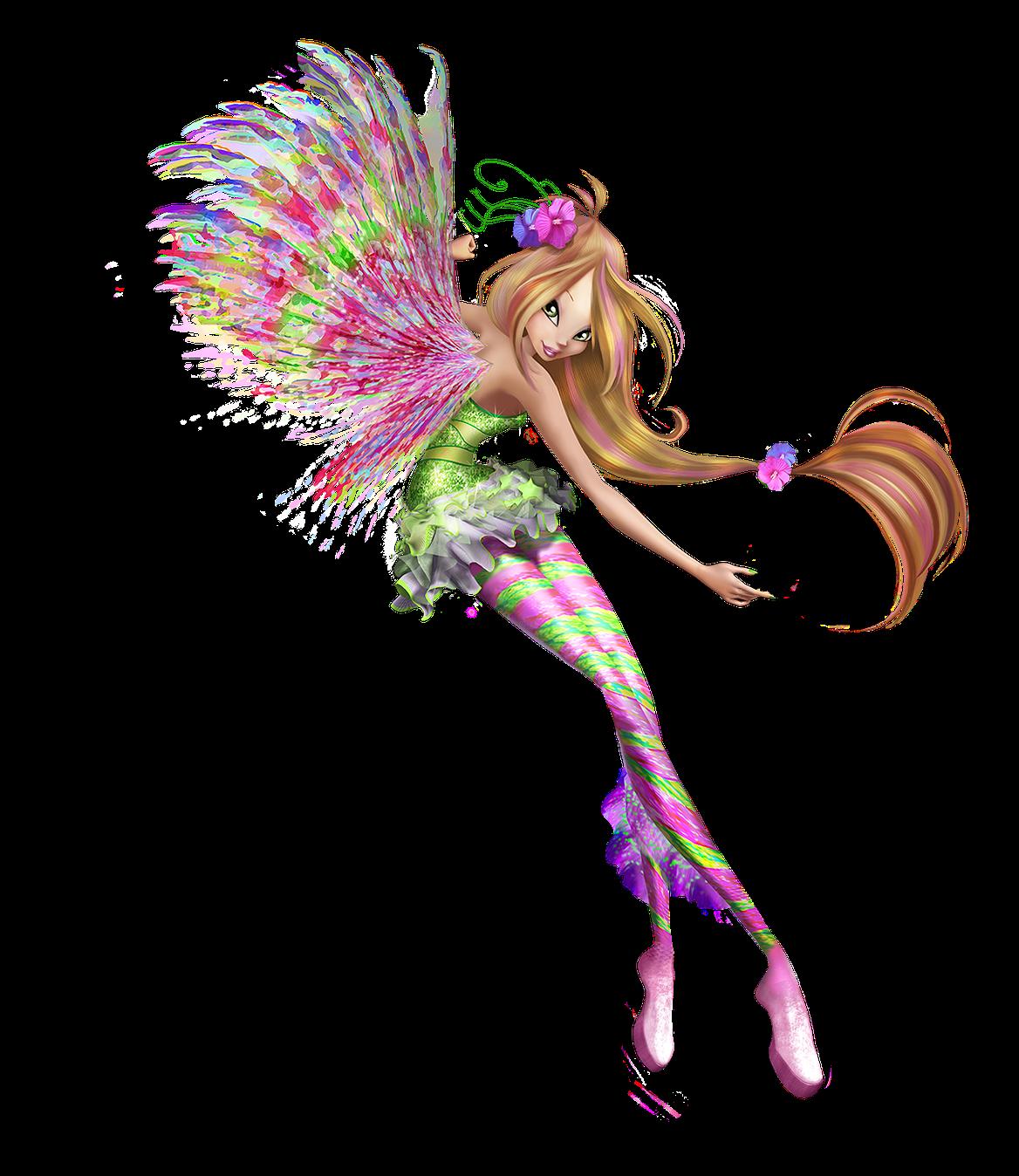 Winx club fairies flora new pictures - Winx club sirenix ...