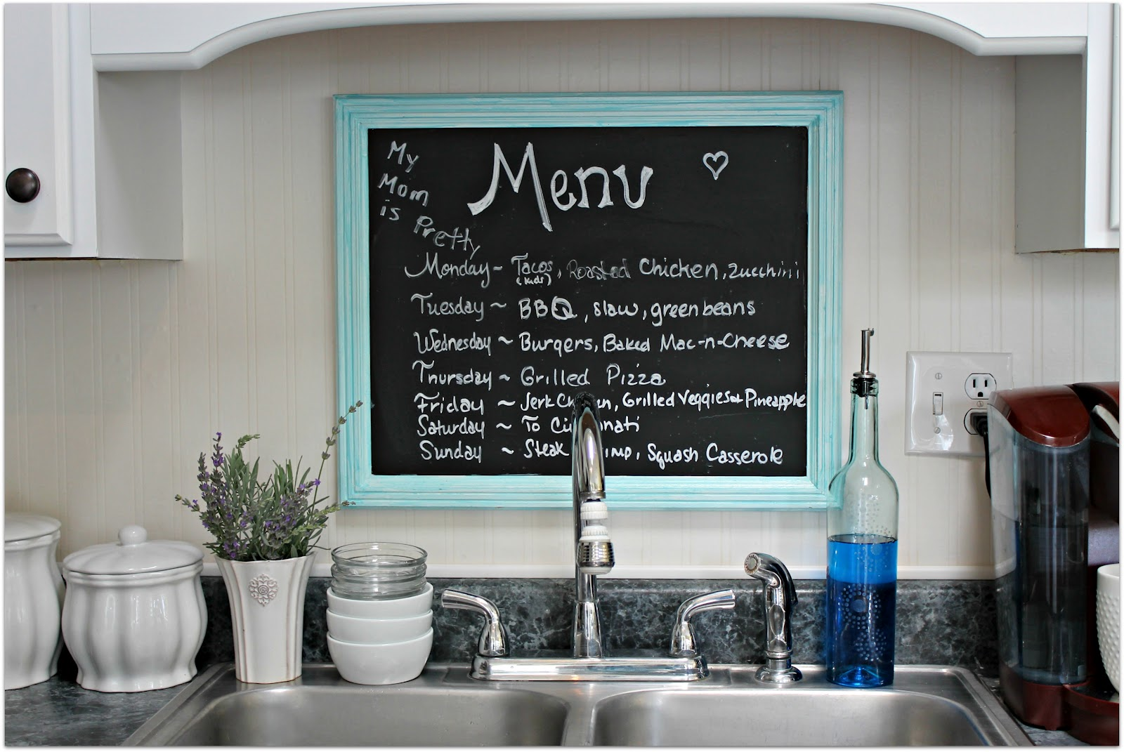 Mom Keeping It 4 Real In Kentucky Home Tour {Charming, Recently Renovated  Diy Kitchen Makeover}