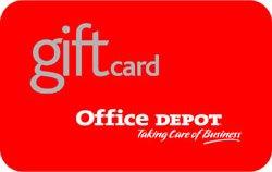 office depot gift card balance