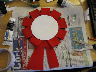 mayor nightmare before christmas rosette