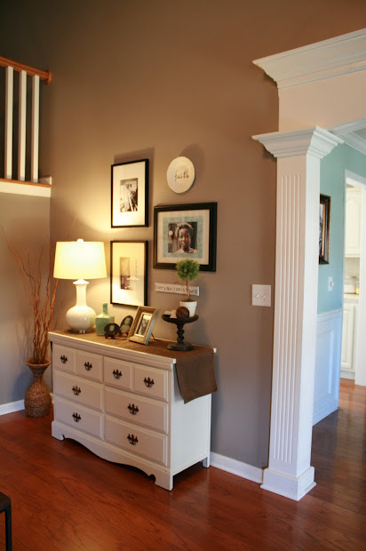 Living Room Paint Ideas with Crown Molding