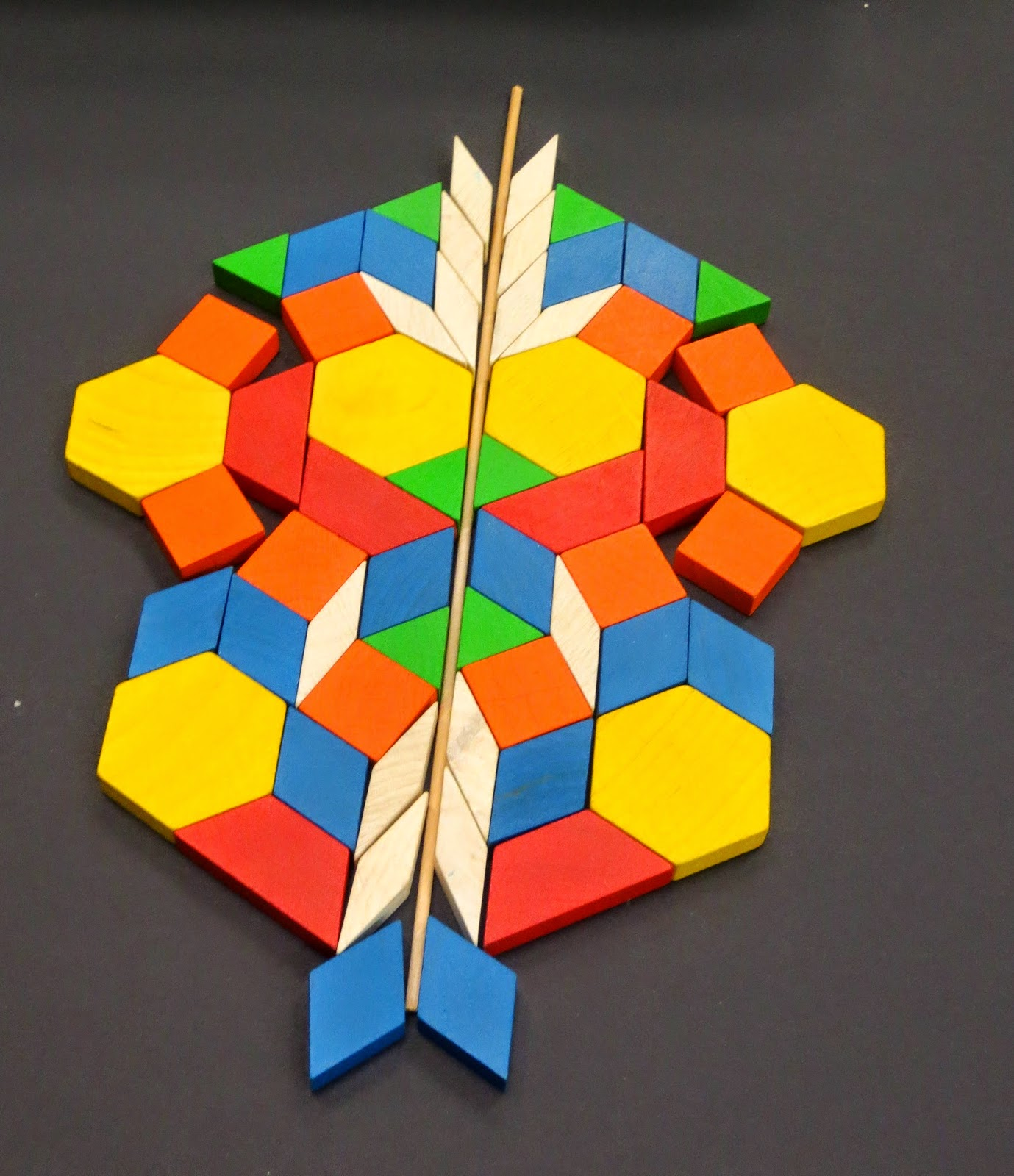 Symetrical Designs abington friends lower school news and notes: looking at symmetry