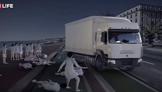 3D βίντεο δείχνει πως έσπειρε τον θάνατο ο τρομοκράτης στην Νίκαια...