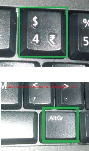 Type Rupee Symbol With Dell Kb212 B Keyboard Tech Articles