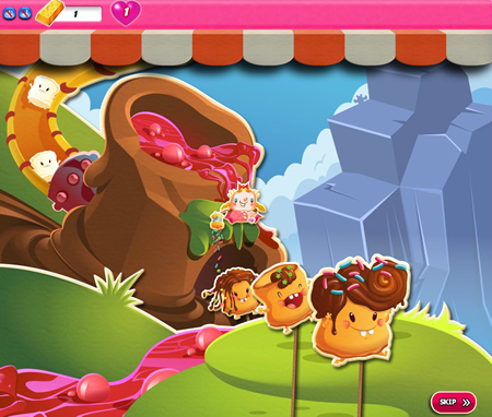 Candy Crush Saga 1041-1055