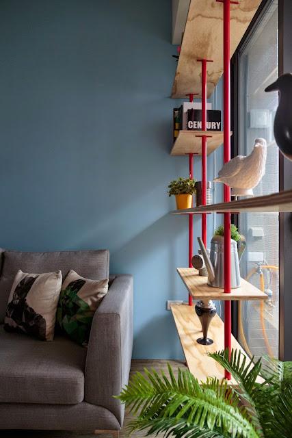 pequeno apartamento decorado, blog de decoração, achados de decoração,