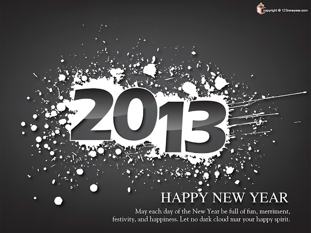 New Year 2013 Wishes Wallpapers