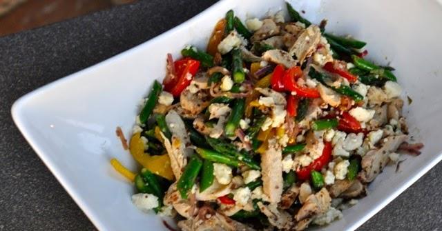 My Own Sweet Thyme: Dijon Blue Chicken Salad