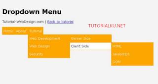 Cara Membuat Dropdown Menu Dengan Jquery Dan CSS