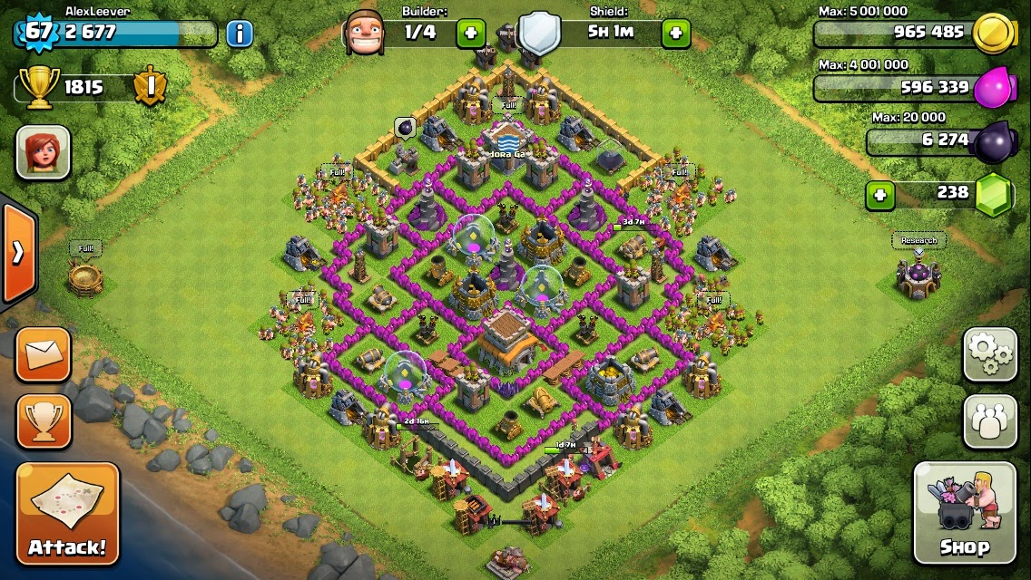 Clash of clans town hall 8 layout clash of clans strategy guide