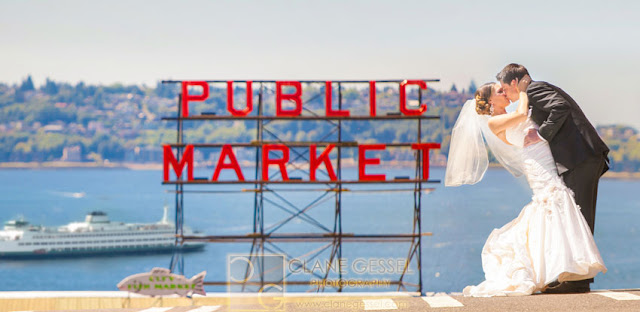 Best Seattle Wedding Photography Pike Place Market