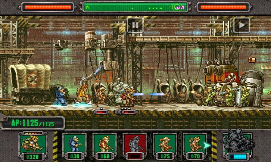 Game Android dan iOS - Metal Slug Defense