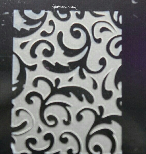 Lily Anna 14 Stamping Plate