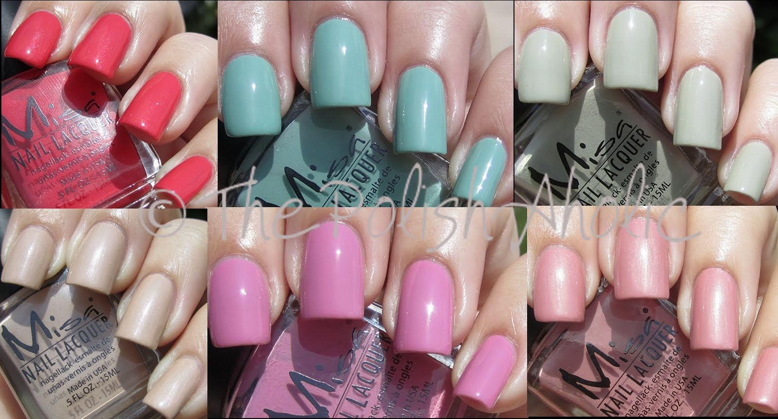The PolishAholic: Misa Hip To My Jive Fall 2011 Collection Swatches