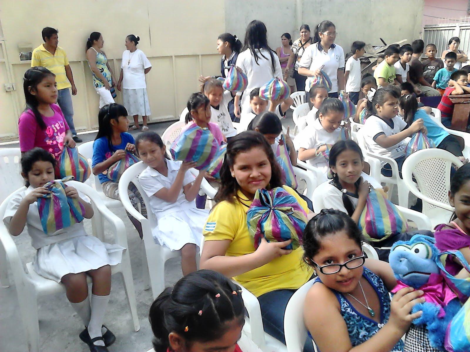 Entrega de Juguetes - Providencia