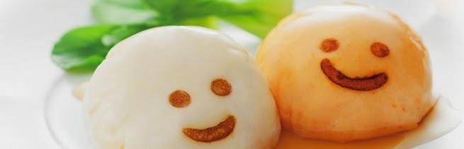 mochi carita feliz happy face cake