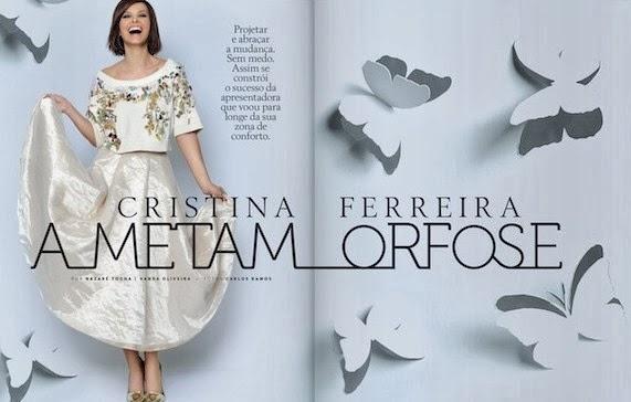 Cristina Ferreira Prevenir Portugal Magazine Cover Fevereiro 2014 HQ Scans