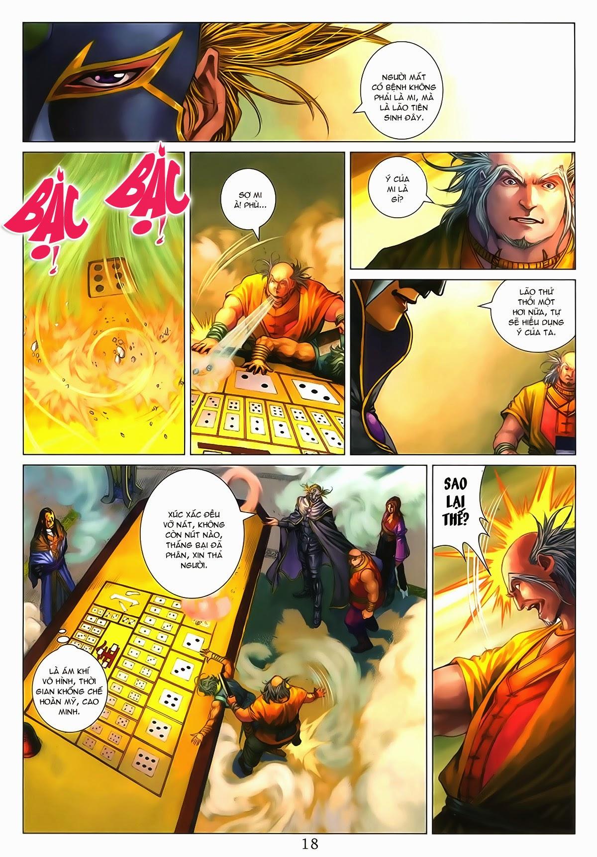 Tứ Đại Danh Bổ Chap 286 - Trang 18