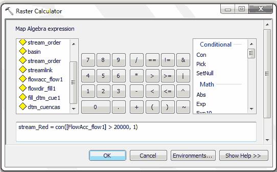 Calculadora raster