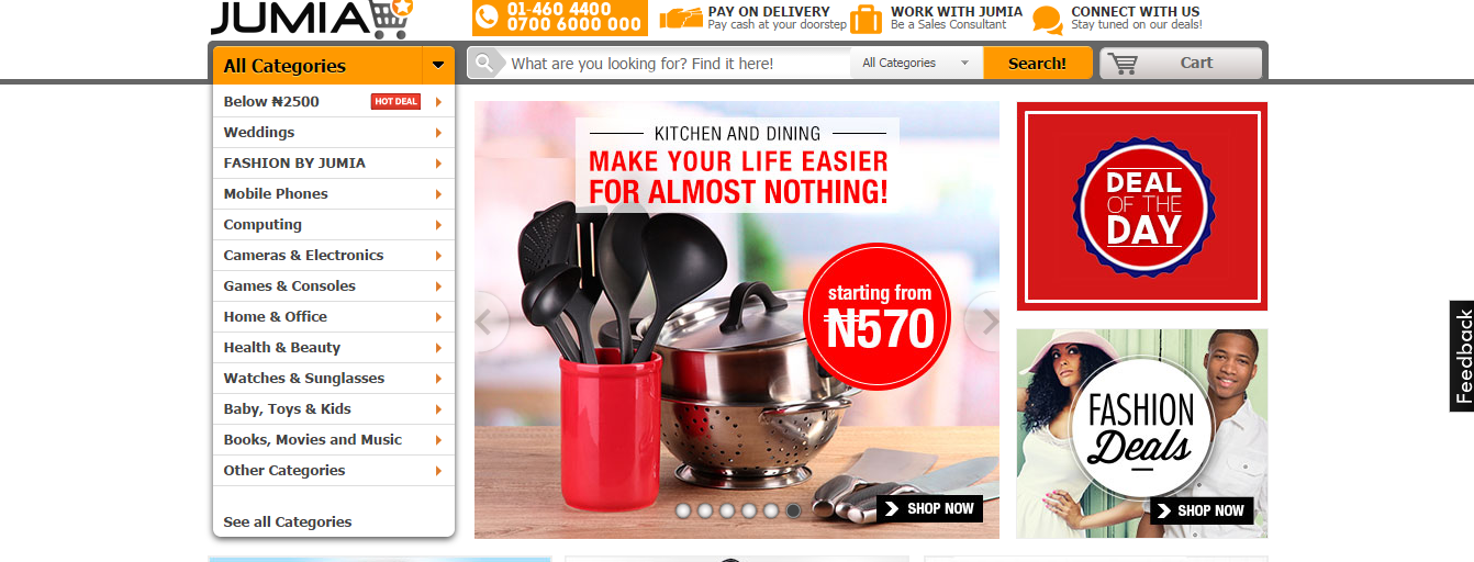 Jumia nigeria online shopping cheap deals and discount for Online discount shopping sites