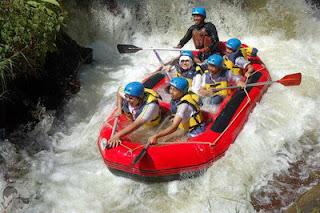 Rafting Di Sungai Palayangan Pangalengan Bandung