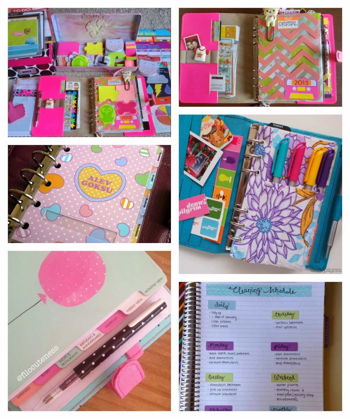 Belindaselene cute supplies for your planner for How to make a good planner
