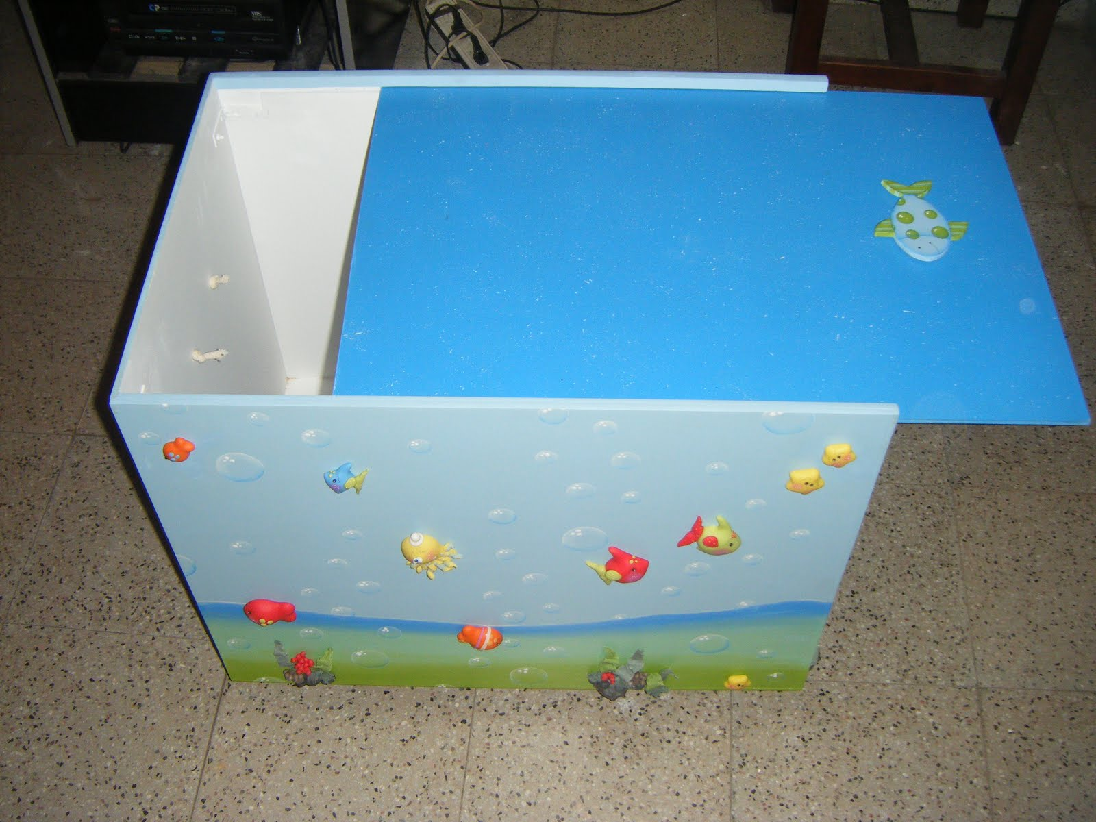 Artesanias popitos caja para guardar juguetes - Cajas para guardar juguetes ...