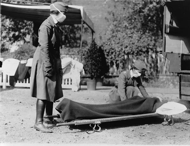 инфлюэнца в 1918 г