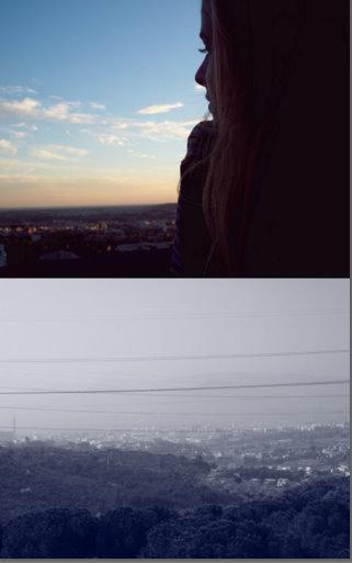 Subir  al tejado pa' hablar con la luna que siempre me sabe escuchar.